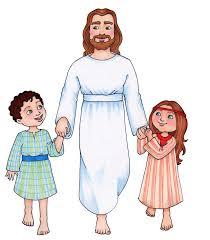 jesus and the children clipart clipartxtras