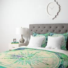 blue and green duvet covers bedding home design ideas