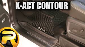 Husky Liner Floor Mats For Toyota Tundra by Husky Liners X Act Contour Floor Mats On 2015 Gmc 2500 Youtube