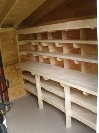 Building Wood Shelves Garage by 25 Best Shed Shelving Ideas On Pinterest Tool Shed Organizing