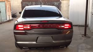 2013 dodge charger tail lights 2011 dodge charger sequential tail lights youtube
