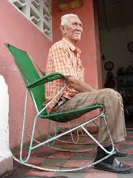 Old Man In Rocking Chair Elderly Man In Rocking Chair Pinar Del Rio Cuba A Photo On