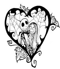 Nightmare Before Christmas Wedding Invitations 44 Best Black And White Nightmare Before Christmas Tattoos Images