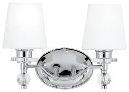Quoizel Hollister Light  W Reversible Bathroom VanityLight - Bathroom lighting fixtures chrome 2