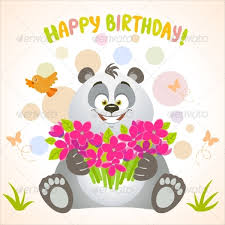 invitation card cartoon design 16 animal birthday invitation templates free vector eps jpeg al