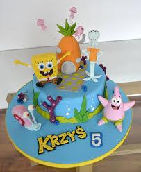 spongebob cake toppers spongebob cake cake by agnieszka cakes cake
