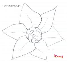 suggestions online images of easy flower pictures to draw