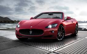 stanced maserati car picker red maserati granturismo sport
