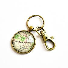 personalized graduation gifts personalized map keychain stuffers for men high school