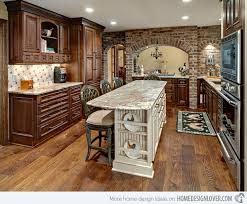 brick kitchen ideas brick in kitchen designs homepeek