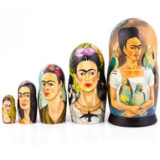 frida kahlo nesting doll product sku s 150947