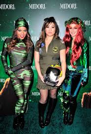 hollywood halloween shenae grimes at 3rd annual midori green halloween party in west