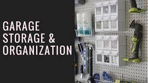 creative garage storage and organization ideas youtube