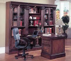 Office Desk Wall Unit Parker House Peninsula Desk Wall Unit Set Huntington