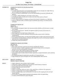 resumes for marketing jobs marketing graduate resume samples velvet jobs