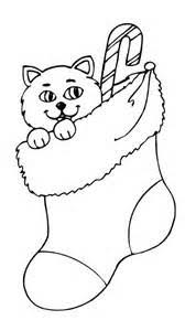 coloring pages coloring pages christmas cats allcolored