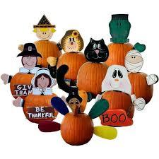 Wooden Pumpkin Pal Pumpkin Decorating Kits No Carving