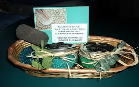 bathroom gift basket ideas handmade bath salts foot soak gift basket bathtub yoga