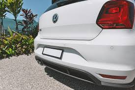 volkswagen polo modification parts volkswagen polo optical parking sensors rear retrofit ops genuine