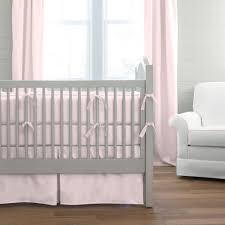 Solid Pink Crib Bedding Solid Pink 3 Crib Bedding Set Carousel Designs
