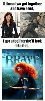Black Widow Meme - if black widow and hawkeye have a kid weknowmemes