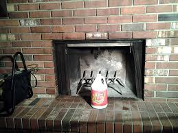 How To Clean Fireplace Bricks With Vinegar by Remove Smoke And Sot Stains From Your Fireplace With Just One
