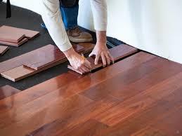 begin floor installation with wooden floor laying tips