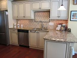 traditional backsplashes for kitchens traditional cabinet kitchen with clay light color brick