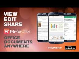 office app for android wps office pdf android apps on play