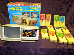 Fisher Price Toy Box Lot Vintage Toy Fisher Price Movie Viewer Theater In Box With
