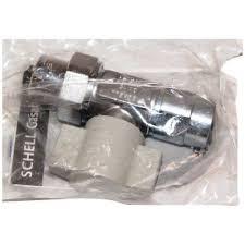 robinet de gaz cuisine schell 117810699 robinet d arrêt gaz 15 x 21 1 2 chrome achat