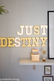 diy marquee letters for the office just destiny