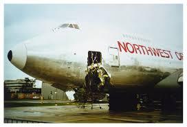 Airplane Weathervane Seaboard Boeing 747 Accident In Frankfurt