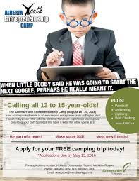 calling all 13 to 15 year olds community futures saskatchewan