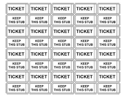 free ticket maker template the best letter sample