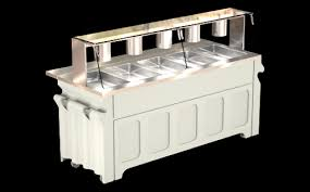 serving line steam tables galley line custom looking food serving kiosks at standard and