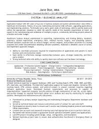 Systems Analyst Resume Example by Outstanding System Support Analyst Resume 29 With Additional