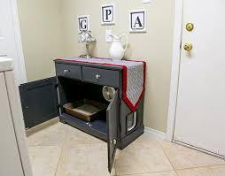 converting furniture for litter box today u0027s homeowner