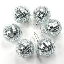 amazon com cosmos 6 pcs 1 8 inch disco ball mirror party