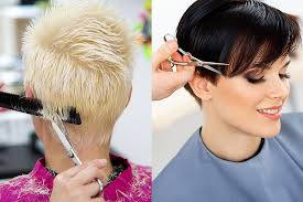 how to trim ladies short hair cape coral beautifying hair salon services