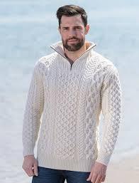 white wool sweater heavyweight merino wool aran troyer aran sweater market