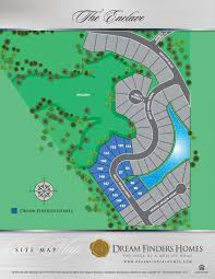 Map Of Plantation Florida by The Enclave At Berwick Plantation Dream Finders Homes