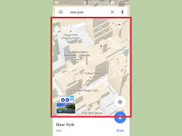 android map how to make maps 3d on android 4 steps with pictures
