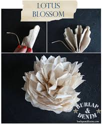 tissue paper flowers printable instructions paper flowers from sewing patternsburlap denim