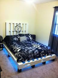 How To Make A Platform Bed Frame With Pallets by Pallet Frames Recycled Pallet Ideas