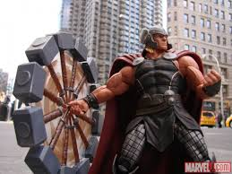 new marvel select thor marvel shop exclusive the toyark news