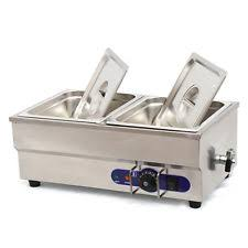 electric steam table countertop 110v 2 pan commercial buffet bain marie food warmer steam table