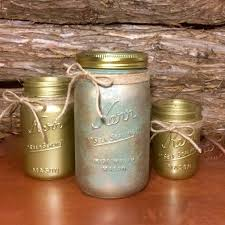 Mason Jar Bathroom Storage by Green Mason Jars Green Canisters Green Marbled Mason Jar Set