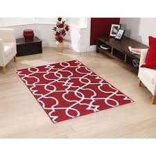 Rubber Area Rugs Berrnour Home Rose Collection Moroccan Trellis Design Area Rug