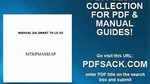manual da smart tv lg 42 video dailymotion
